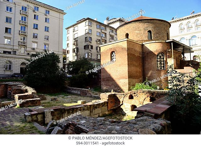 Hermitage of Sveti Georgi (Sant George) in Sofia, Bulgaria