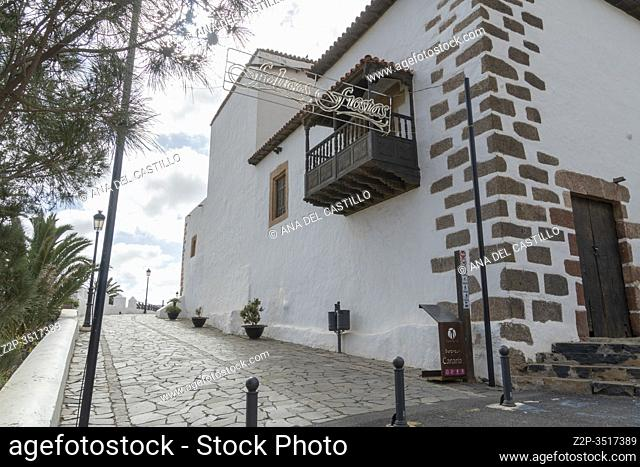Fuerteventura Canary islands Spain on December 13, 2019. The historic town of Betancuria