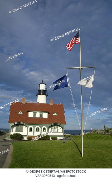 Portland Head Lighthouse, Fort Williams Park, South Portland, Maine