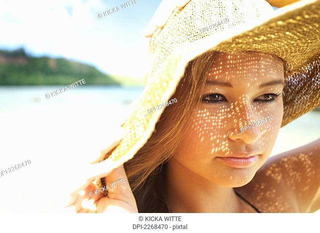 5c5e258c10170 Posing anini beach Stock Photos and Images