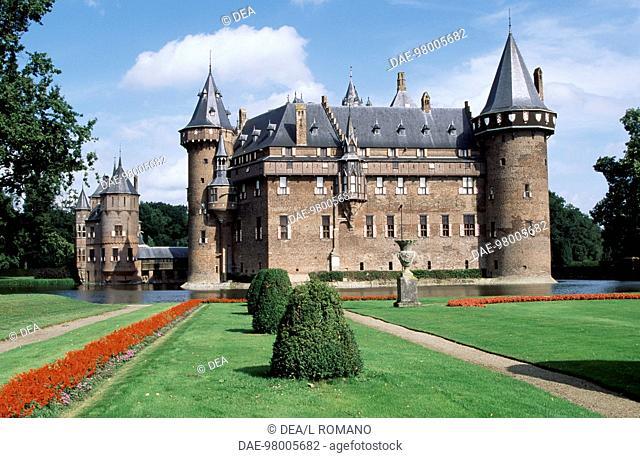 Castle De Haar, 1892, by architect Pierre Cuypers. The Netherlands