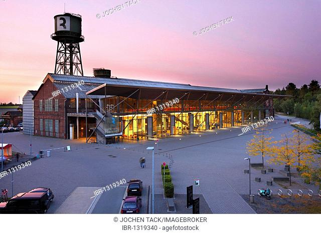 Centennial Hall Bochum, Westpark Industrial Park, theater and concert hall, part of the Ruhr Triennale, Bochum, North Rhine-Westphalia, Germany, Europe