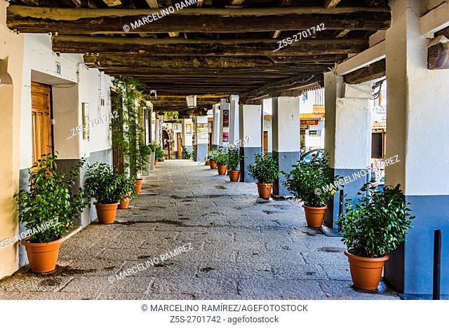 Jewish Quarter. Guadalupe, Cáceres, Extremadura, Spain, Europe