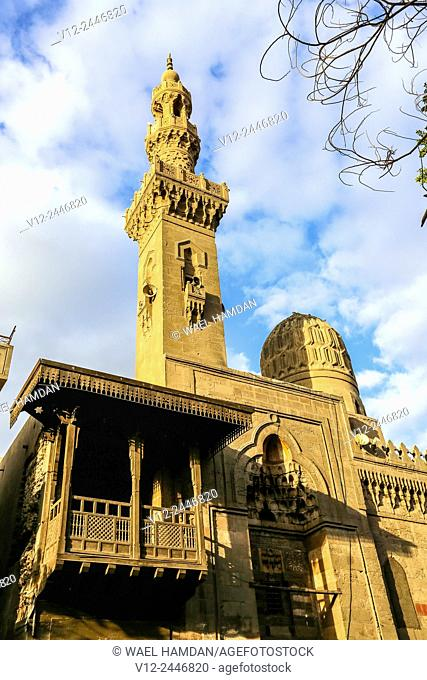 Mosque of amir taghri bardi were built in the mamluk Period, Cairo, Egypt