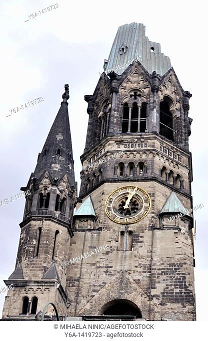 Kaiser Wilhelm Memorial Church Berlin Germany Europe