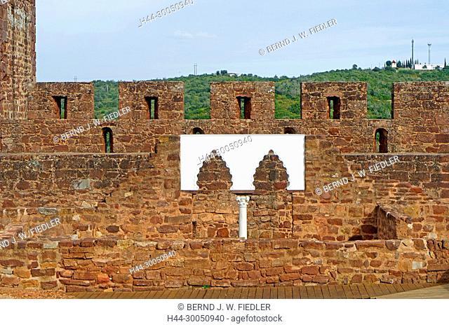 Castelo de Silves, excavations, Silves Portugal