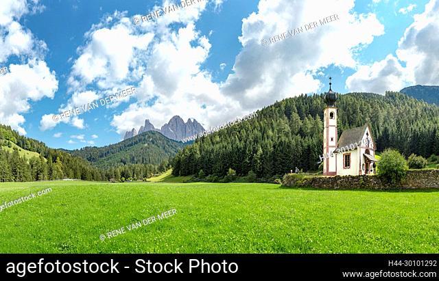 Chiesetta di San Giovanni in Ranui, Villnöß valley / Val di Funes