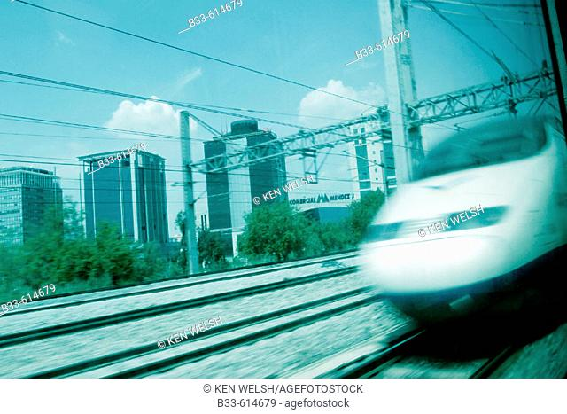 AVE (High speed train). Madrid. Spain
