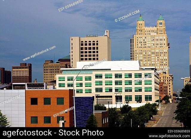 Kansas City skyline - Missouri, USA