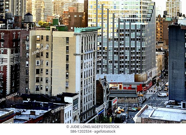Upper West Side View, New York, NY, USA