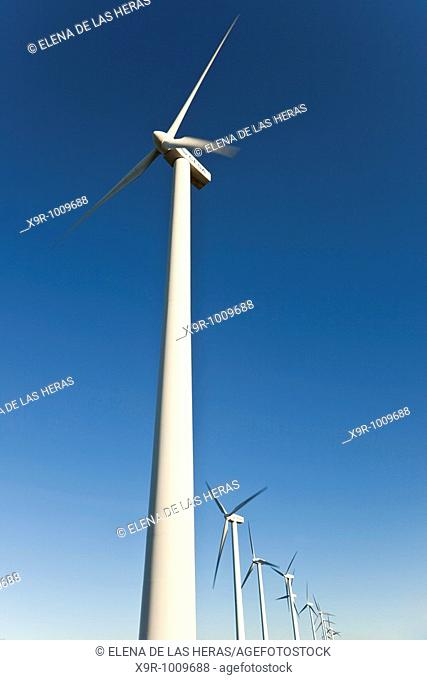 Windmills. Burgos. Spain