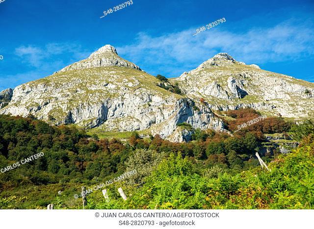 Parque natural Collados del Ason. Cantabria. España. Europa