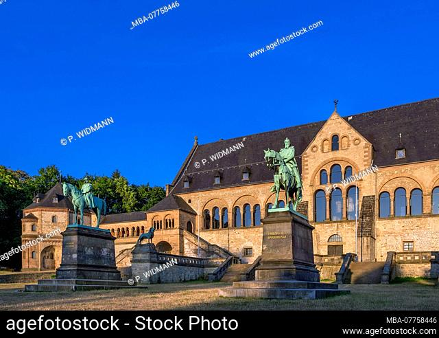 Imperial Palace in Goslar, UNESCO World Heritage Cultural Site, Harz Mountains, Lower Saxony, Germany, Europe