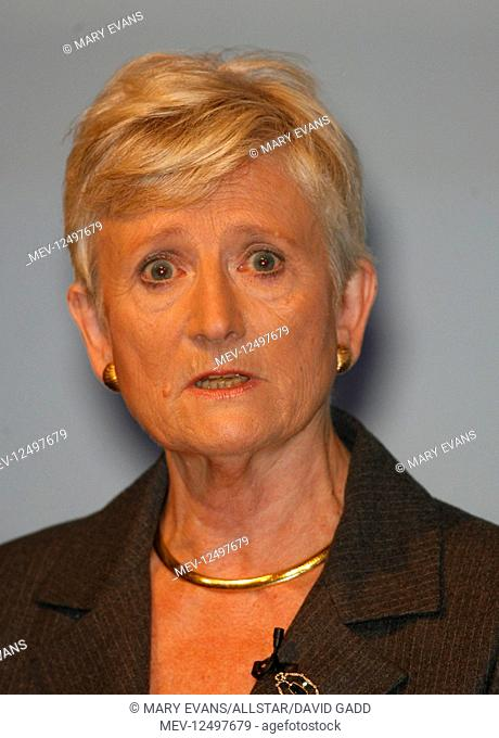 Dame Pauline Neville-Jones Security Advisor To The Leader Of The Opposition Conservative Party Conference 2007 Winter Gardens, Blackpool