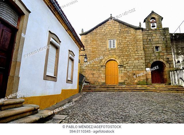 Chapel and student housing in Idanha-a-Nova, Castelo Branco, Portugal