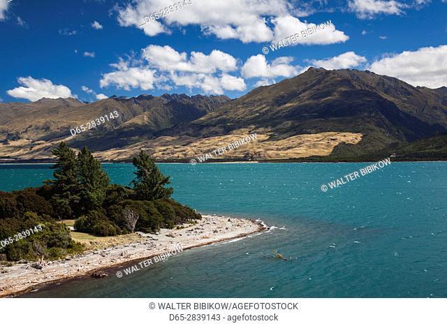 New Zealand, South Island, Otago, Wanaka-area, Lake Wanaka