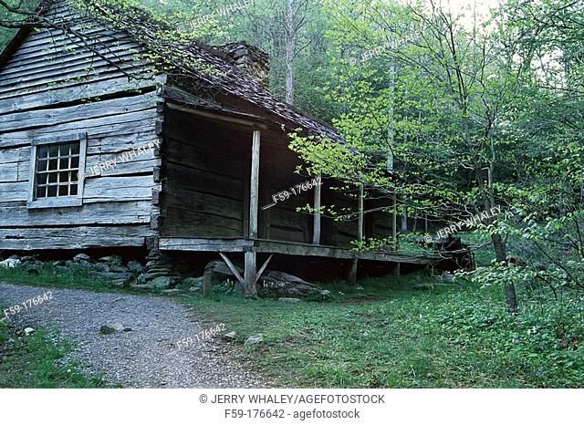 'Bud' Ogle Cabin. Great Smoky Mountains National Park. Tennessee. USA