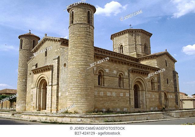 Romanesque church of San Martín, 11th century. Frómista, Road to Santiago. Palencia province. Spain