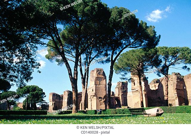Caracalla Baths. Rome. Italy