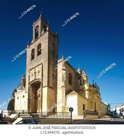 Church of Santiago el Mayor, Utrera. Sevilla province, Andalusia, Spain