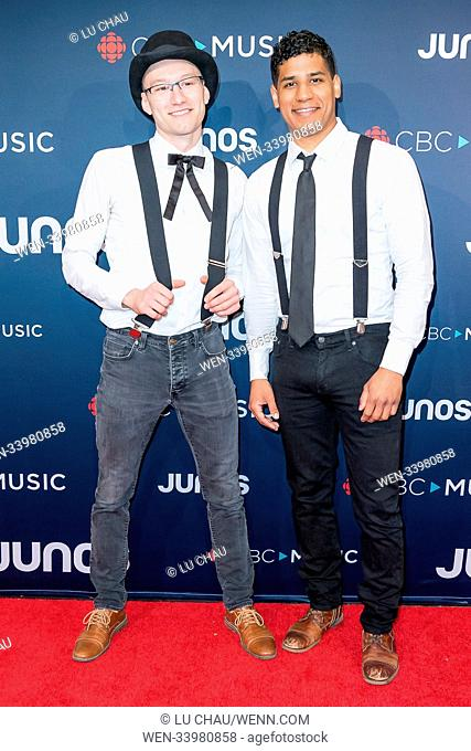 2018 JUNO Awards, held at the Rogers Arena in Vancouver, Canada. Featuring: The Dead South Where: Vancouver, British Columbia