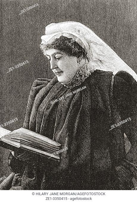 "Isabel, Lady Burton, 1831 â. "" 1896, née Isabel Arundell. Writer and the wife and partner of explorer, adventurer, and writer Sir Richard Francis Burton"