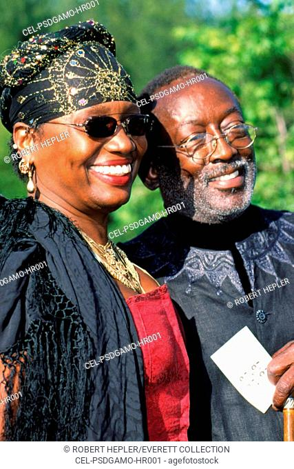 Garrett Morris and his Wife at the American Comedy Awards, LA, 4/25/2001 by Robert Hepler