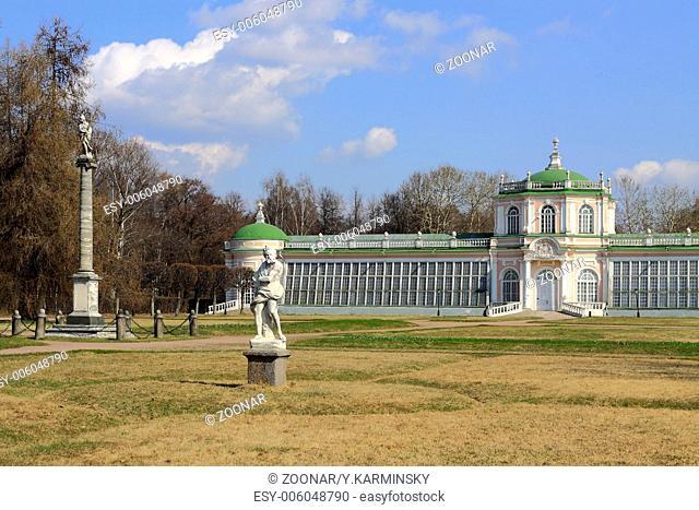 Kuskovo museum. Moscow. Russia