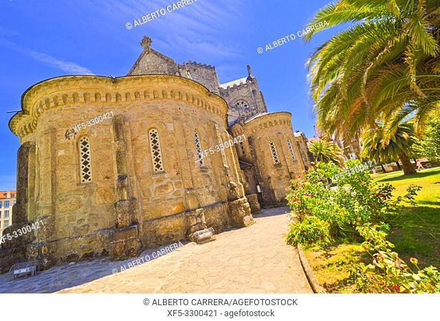 Church of Vera Cruz, Carballiño, Orense, Galicia, Spain, Europe