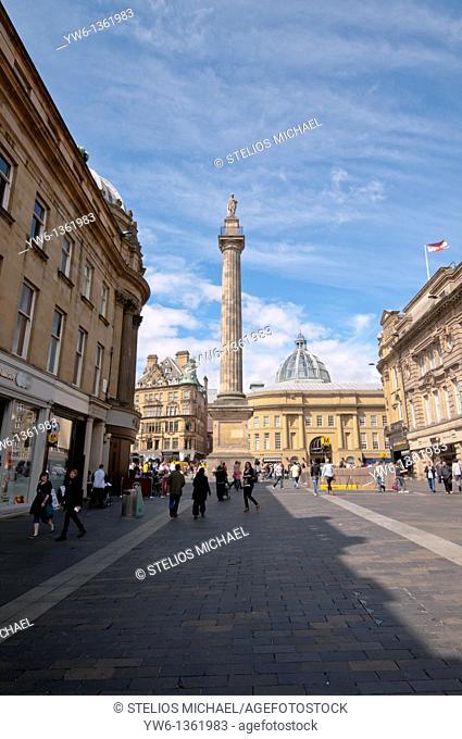 Grey's Monument,Newcastle,Scotland