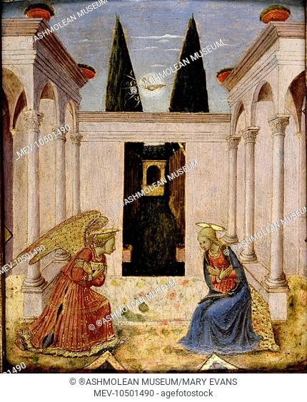 The Annunciation. follower of Fra Angelico (c. 1395/1400 - 1455)