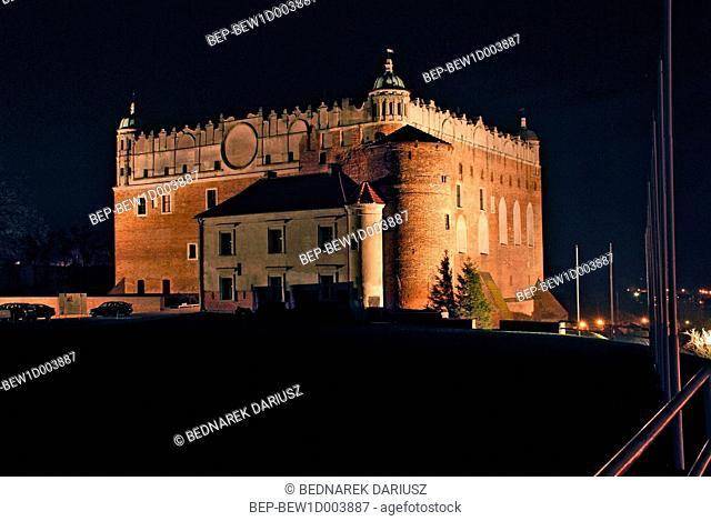 Teutonic Knights Castle from XIII/XIV century, Golub-Dobrzyn, Kuyavian-Pomeranian Voivodeship, Poland