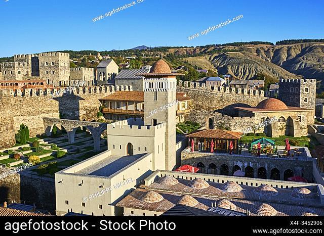 Georgia, Caucasus, Samtskhé-Djavakhétie, Akhaltsikhe, Rabati castle from 9th century