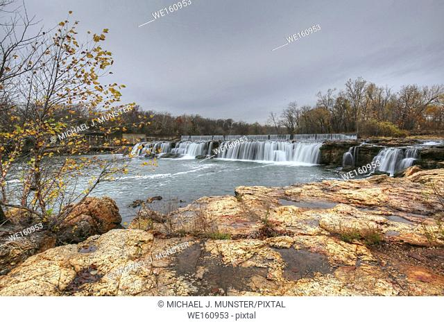 Grand Falls in Joplin, Missouri. USA