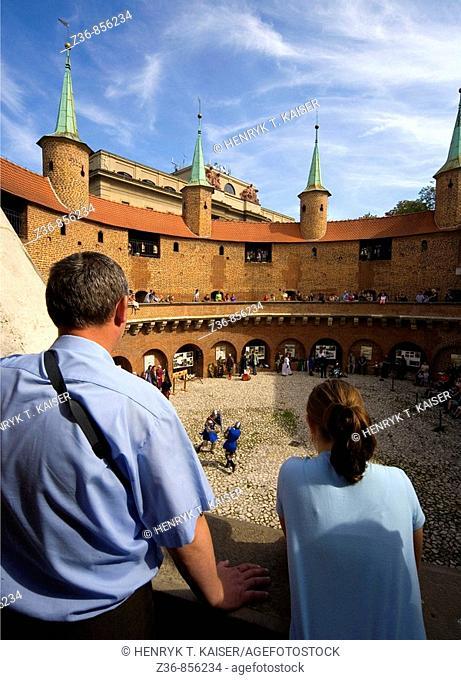 Poland Krakow Barbican show