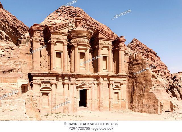 The Monestary ed-Dier, Petra, Jordan