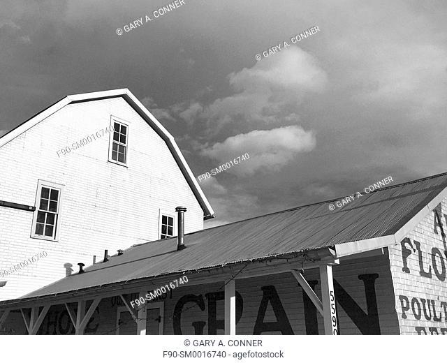 Railroad barn in Arvada, Colorado