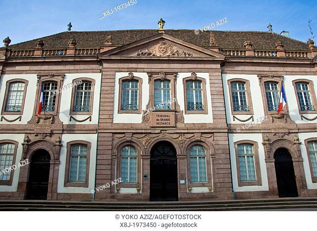 France, Alsace, Colmar, Tribunal