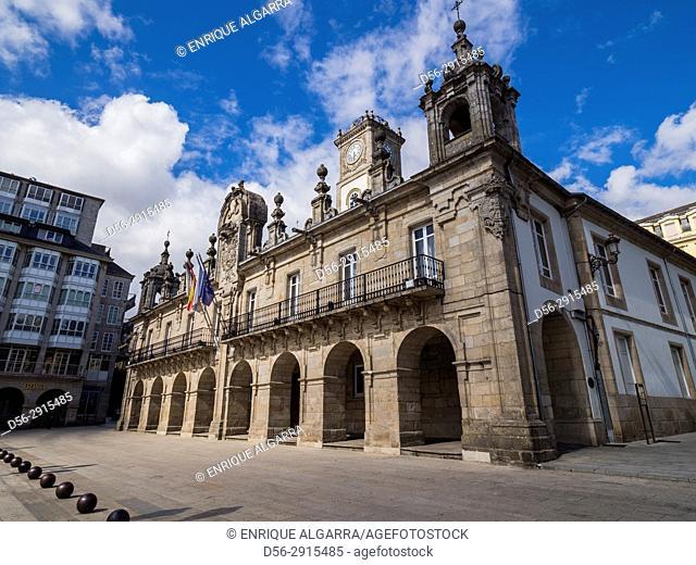 County hall, Lugo, Galicia, Spain