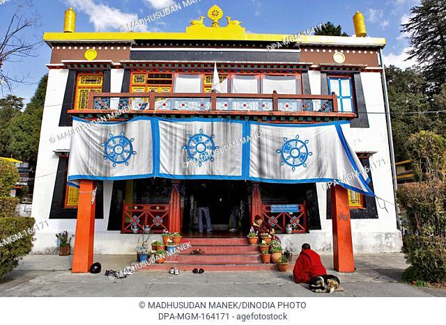 Tchechen Choling Gompa monastery ; Happy valley ; Mussoorie ; Dehradun ; Uttaranchal Uttarakhand ; India