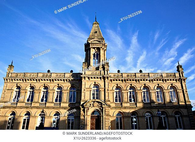 Victoria Hall at Saltaire West Yorkshire England