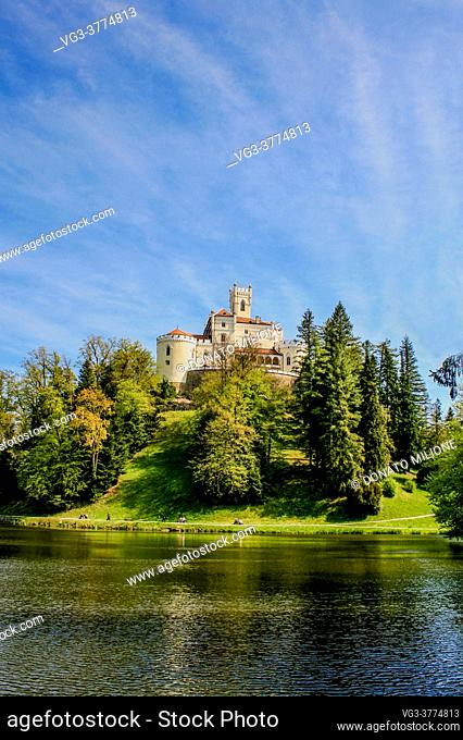 Trakoscan Castle (Dvor Trakoscan or Dvorac Trakoscan) is a castle located in northern Croatia (in the Varaždin County) that dates back to the 13th century and...
