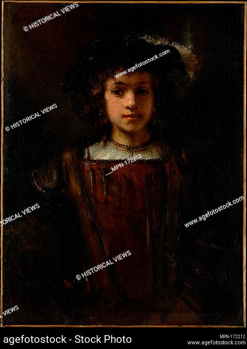 Rembrandt's Son Titus (1641-1668). Artist: Style of Rembrandt (17th century or later); Medium: Oil on canvas; Dimensions: 31 1/8 x 23 1/4 in. (79