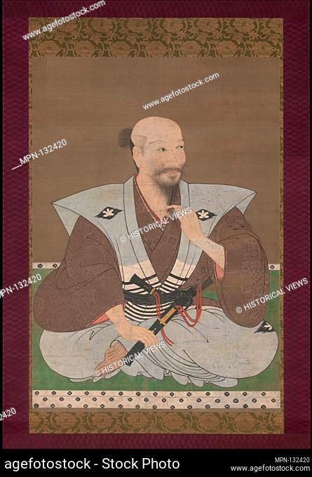 Portrait of a Warrior. Artist: Unidentified Artist Japanese, late 16th century; Period: Momoyama period (1573-1615); Date: late 16th century; Culture: Japan;...