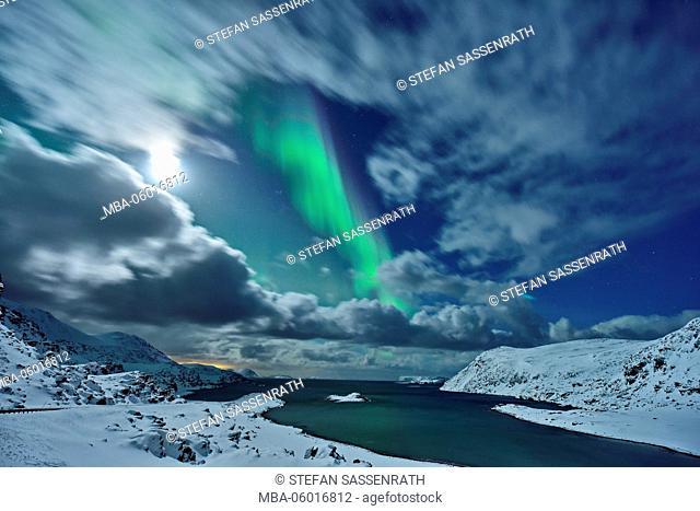 Northern Lights near Havoysund