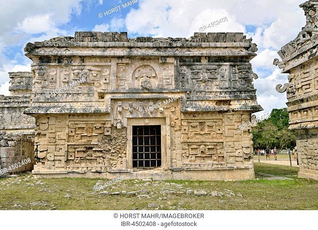 Anexo de las Monjas, house of the nuns, historic Mayan city of Chichen Itza, Piste, Yucatan, Mexico