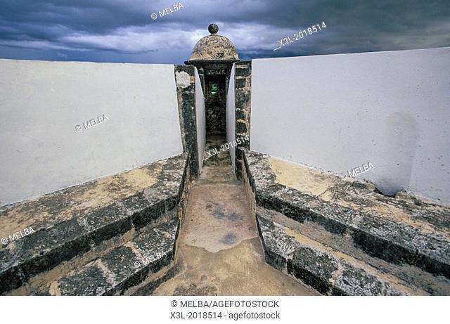 Fuerte, fortress, San jose. Campeche. Mexico