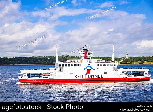 MV Red Eagle is a Raptor Class vehicle and passenger ferry operated by Red Funnel on their route from Southampton to East Cowes on the Isle of Wight