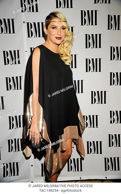 Ke$ha arrives at the 60th annual BMI Pop Awards at the Beverly Wilshire Four Seasons Hotel on May 15, 2012 in Beverly Hills, California