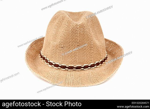 Hat isolated on the white background